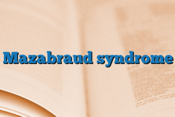 Mazabraud syndrome