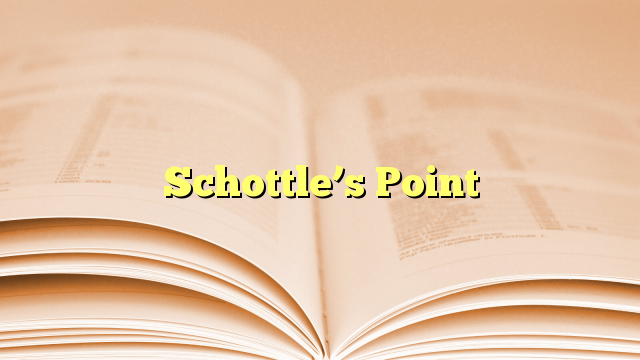 Schottle's Point